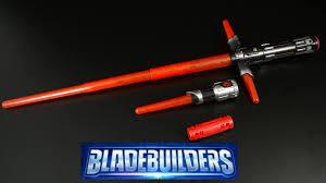 lightsaber toy light up star wars bladebuilders the force awakens kylo ren lightsaber from