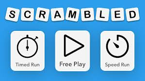 scrambled a new fun anagram puzzle game for all ages