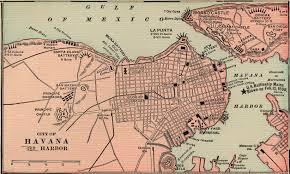 Havana On Map Antique Map Of Havana Cuba From 1901 Havana Cuba U2022 Mappery