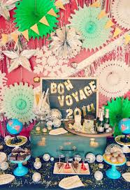 bon voyage decorations ideas inspirational home decorating