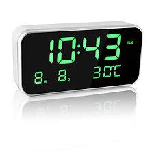 sveglia comodino eaagd sveglia digitale da comodino orologio sveglia da comodino