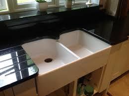 double bowl belfast sink