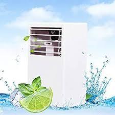 Desk Top Air Conditioner Amazon Com Luckstar Desktop Air Conditioning Fan Quiet Personal