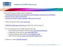 shrm survey findings using social media for talent acquisition u2014recru u2026