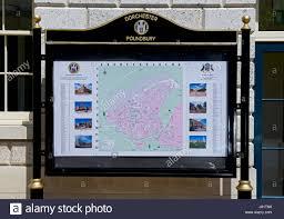 Dorset England Map by Map Of Poundbury Near Dorchester Dorset England Uk Stock Photo