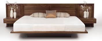 amazing rosewood scandinavian westnofa platform bed with night