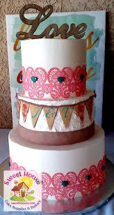 coral wedding cakes sweet house cake supply bakery wedding cakes