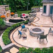 Terraced Patio Designs Terraced Patios Multi Level Patios The Clearwater