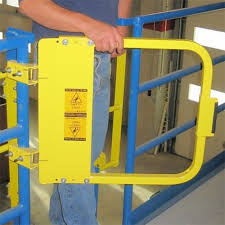 Self Closing Stair Gate by Ps Doors Ladder Safety Gate Self Closing Swing Gate