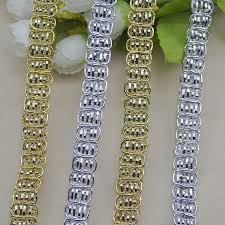 gold lace ribbon find more lace information about gold lace ribbon renda 1cm sewing