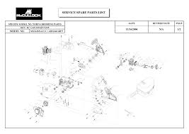 mcculloch chainsaw owners manual mac 3200 series