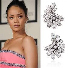rihanna earrings get the look award season jewelry jewelry