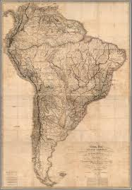 Labeled South America Map by Extremely Detailed 1807 Map Of South America 6858 9870 Mapporn