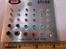 plastic stud earrings kids plastic earrings ebay