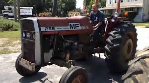 massey ferguson 255 tractor youtube