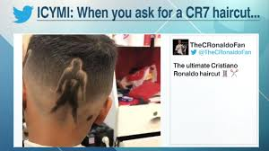 the sweeper ronaldo hairstyle by super fan espn fc