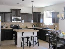 traditional kitchen with stone tile u0026 kitchen island in gilbert