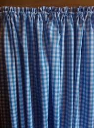 Blue And White Gingham Curtains Black Gingham Curtains The Blackstone Cottage Pinterest