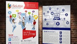 social media brochure template 20 social media flyer templates free premium