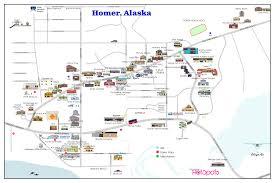 Homer Alaska Map by Maps Of Homer Alaska U2022 Homer Hotspots