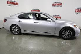 lexus toyota car pre owned 2007 lexus ls 460 4dr car in escondido 75048735
