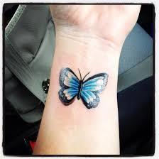 butterfly wrist ink butterfly wrist