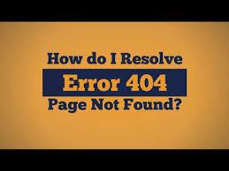 erro 404 no encontrado geapcombr how do i resolve error 404 page not found youtube