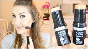 contour with stick foundation mufe ultra hd full routine youtube