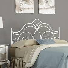 White Iron Headboard Fashion Bed Rhapsody Headboard B10174