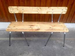 old chairs turn into pallets bench 99 pallets