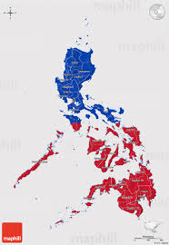 Filipino Flag Colors Flag 3d Map Of Philippines Flag Centered