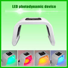 best handheld led light therapy device korea portable led light pdt led therapy device red blue green