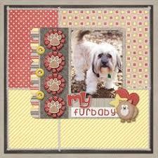 Dog Scrapbook Album Celebrating Mother U0027s Day For Dog Moms Trudog