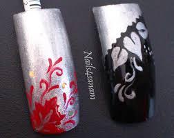 diy stencil nail art youtube