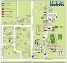 Ohio University Campus Map by Hiram College Alumni Weekend Map