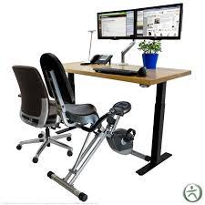 Recumbent Bike Desk Diy by Exercise Bike Office Chair Techieblogie Info