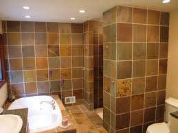a slate master bath renovation in indianapolis wrightworks llc indianapolis master bath walk in shower