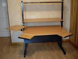 bureau bois occasion bureau metal et bois chaise bois et metal bureau informatique ikea
