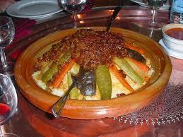 cuisine marocaine couscous préparation de la idee recette couscous marocain tfaya recette