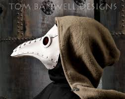 white plague doctor mask krankheit riveted plague doctor mask in white