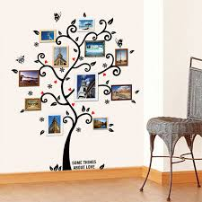 wall ls in bedroom fashion wall stickers frame tree shape art decals paste home