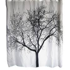 choosing the best shower curtain in 2017 our top 10 curtain reviews dozenegg waterproof shower curtain with tree design