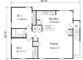 2 bedroom apartment floor plans garage with height main floor 8