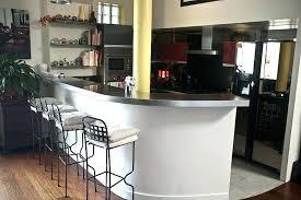 pied inox cuisine table cuisine inox bar table cuisine avec pied inox globetravel me