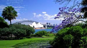 The Royal Botanic Gardens The Royal Botanic Garden Sydney The Domain Aroundyou