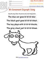 kindergarten phonics songs esl phonics rhymes worksheets