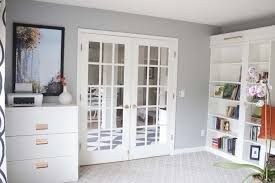Billy Bookcase Makeover Office Makeover Reveal Ikea Hack Built In Billy Bookcases Okebuy