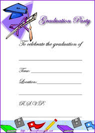 4 best images of free printable graduation party invitation cards