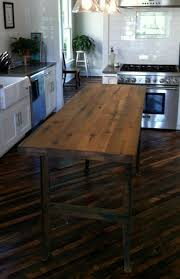 Kitchen Island Made From Reclaimed Wood 174 Best Kitchen Images On Pinterest Home Kitchen And Live