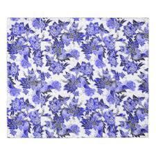 floral watercolor duvet u0026 comforter covers zazzle